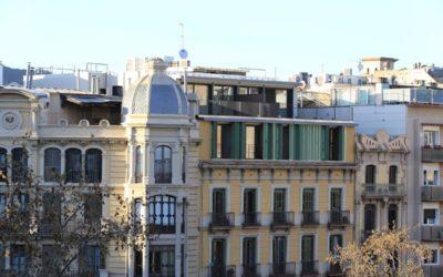 Viviendo en el tejado de ciudades